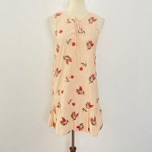 Lovers + Friends Small Floral Embroidered Dress